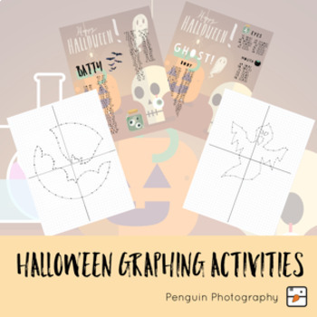 Halloween Activity on a Coordinate Grid/Cartesian Plane