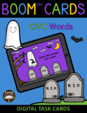 Halloween Ghosts and Graves CVC Words BOOM Cards™ Distance