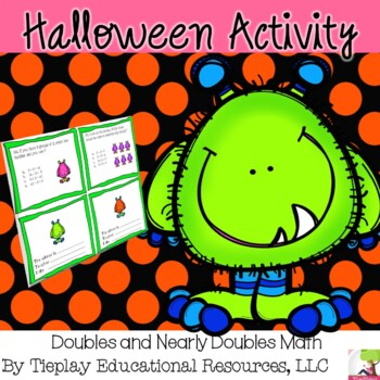 Halloween Ghoulish Fact Family Math