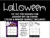 Halloween Gift/Activity Tic Tac Toe