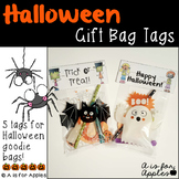 Halloween Gift Bag Tags {FREEBIE}