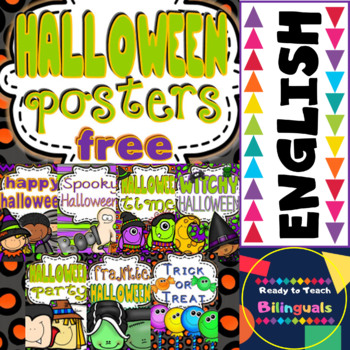 Halloween Gift Posters (FREEBIE) 7 Posters