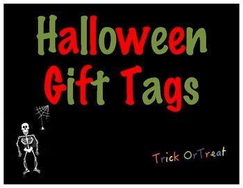 Halloween Gift Tag