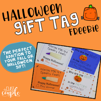 Halloween Gift Tag Freebie