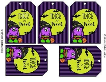 Halloween Gift Tag Printable