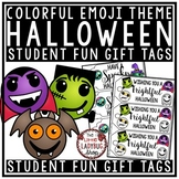 Emoji Halloween Gift Tags • Boo'ed FUN for Student Gifts T