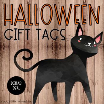 Halloween Gift Tags (Dollar Deal)