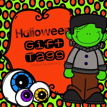 Halloween Gift Tags FREEBIE