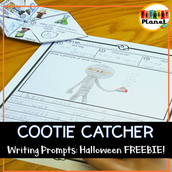 Free Halloween Student Gift for Writer's Workshop and Writing Centers