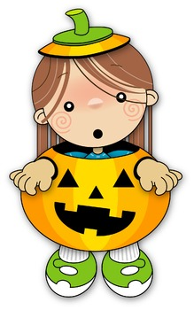 Halloween Girl Illustration