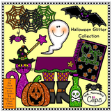 Halloween Glitter Collection with Coordinating Frames