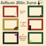 Halloween Glitter Frames