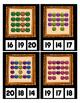 Halloween Glitter Pumpkin Buckets Counting to 20 clip Card