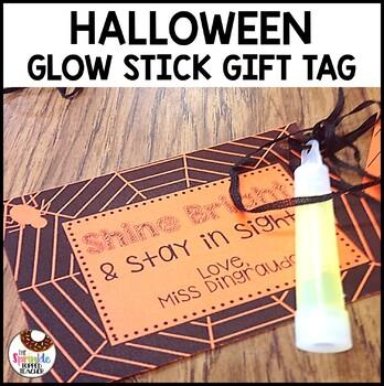 Halloween Glow Stick Gift! FREEBIE