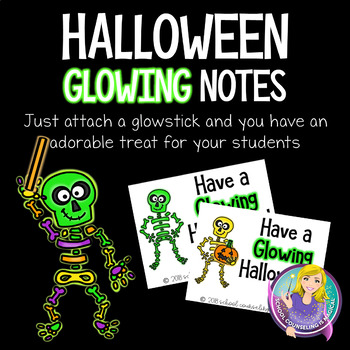 Halloween Glowing Notes
