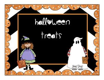 Halloween Glowstick Classroom Treats
