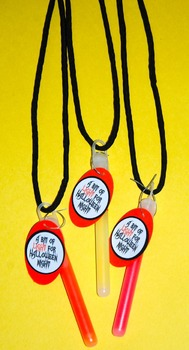Halloween Glowstick Necklaces (Set of 12)