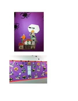 Halloween Glyph- Haunted House