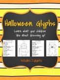 Halloween Glyphs: Witch, Vampire, Pumpkin