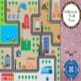 Halloween Gnome Town Map Skills Social Studies ELA Center Station