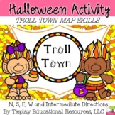 Halloween Gnome Town Map Skills