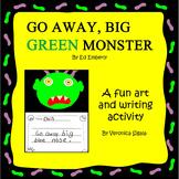 Halloween, Halloween Activities, Halloween Writing Go Away Big Green Monster