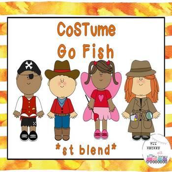 Halloween Go Fish st Blends