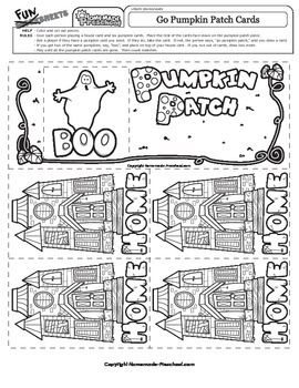 Halloween: Go Pumpkin Patch Game