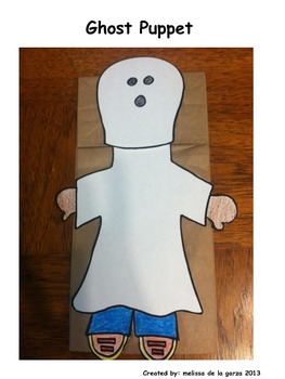 Halloween Ghost Puppet