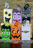 Halloween Goodie Bags with Tags