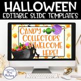 Halloween Google Slides Templates Distance Learning