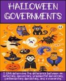 Halloween Governments: Autocracy vs. Democracy