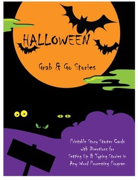 Halloween Grab & Go Stories Pack!