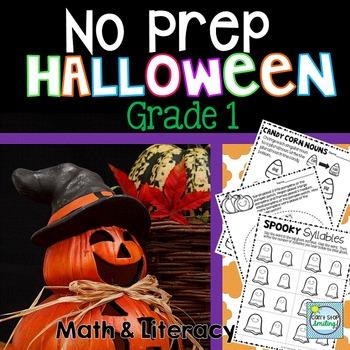 Halloween Activities ~ Halloween Math ~  Halloween 1st Grade