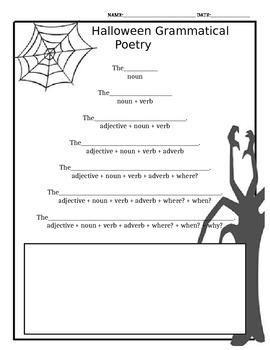Halloween Grammar