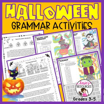 Halloween Grammar Bundle