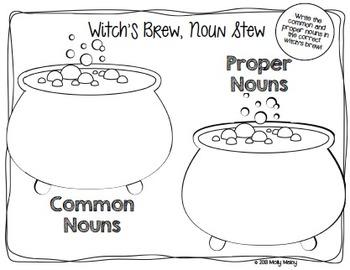 Halloween Grammar Centers - Nouns