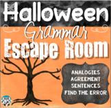 Halloween Grammar Escape Room