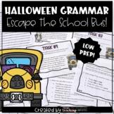Halloween Grammar: Haunted School Bus Escape