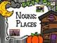 Halloween Grammar  Centers: Featuring  Differentiated Activities