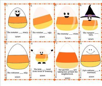 Halloween Grammar Pack