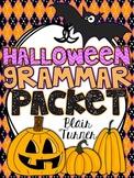 Halloween Grammar Packet