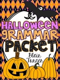 Halloween Grammar Packet