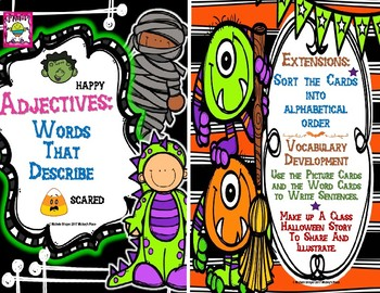 Halloween Grammar Pocket Chart Centers For Differentiated Activities
