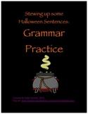 Halloween Grammar Practice