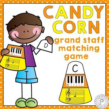 Halloween Grand Staff Matching Game
