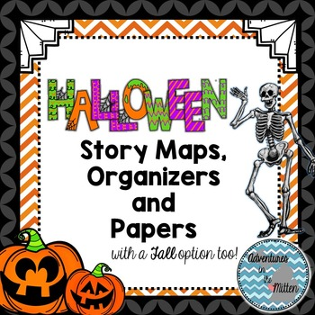Halloween Graphic Organizer & Papers