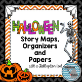 Halloween Graphic Organizer & Writing Papers