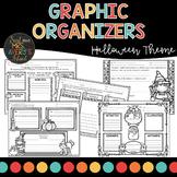 Halloween Graphic Organizers   Reading Comprehension   October Activities