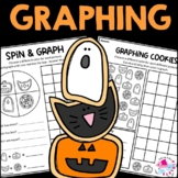 Halloween Graphing Activities | Spin and Graph Halloween W